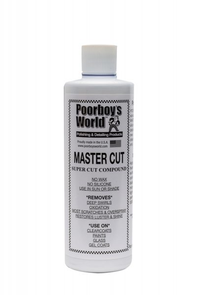 Poorboy's World Master Cut Compound
