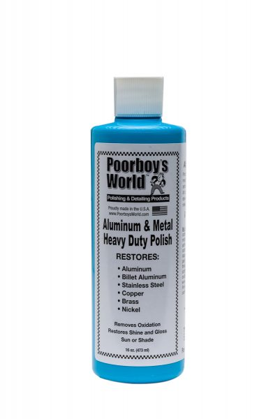 Poorboy's World Aluminum & Metal Polish