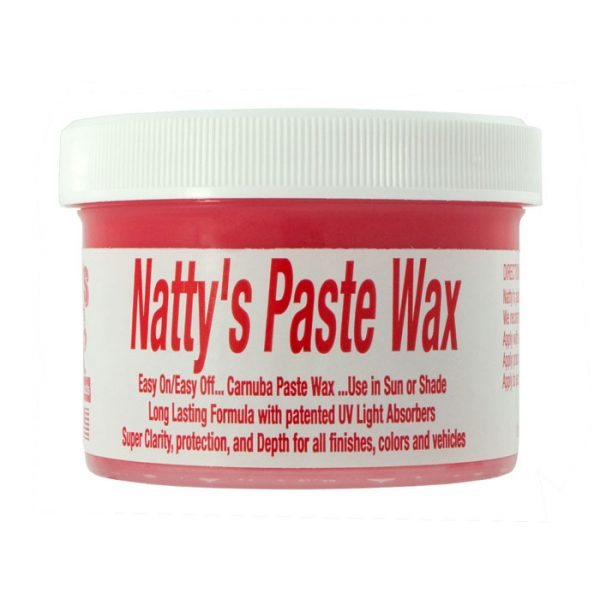Poorboys World Natty's Paste Wax Red 236ml