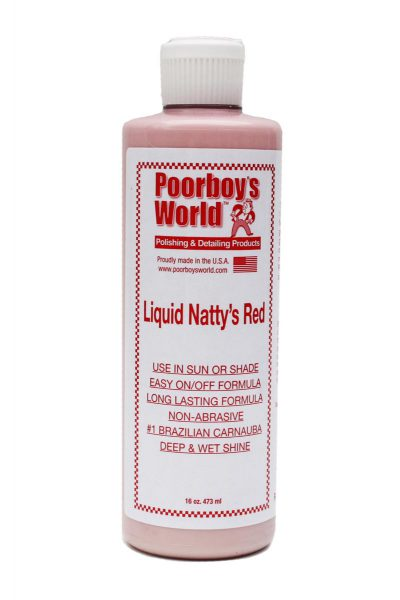 Poorboy's World  Liquid Natty's Red Wax 473ml
